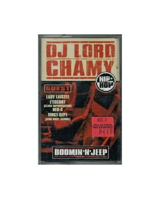 MIXTAPE DJ LORD CHAMY HIP HOP BOOMIN 'N'JEEP MIX TAPE RARE COLLECTOR SON MUSIC MUSIQUE COMASOUND KARTEL CSK ONLINE