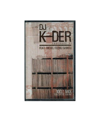MIXTAPE DJ K-DER TOULOUSE 31  MIX TAPE RARE COLLECTOR SON MUSIC MUSIQUE COMASOUND KARTEL CSK ONLINE