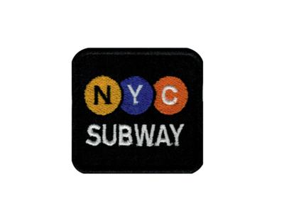 NYC SUBWAY BLACK BLASON BRODERIE VETEMENT WEAR CLOTHING CUSTOM APPAREL HABIT REPARER DECORATION HIP HOP ART GRAFFITI ARTISTE TAG SHOP PRO COMASOUND KARTEL CSK ONLINE