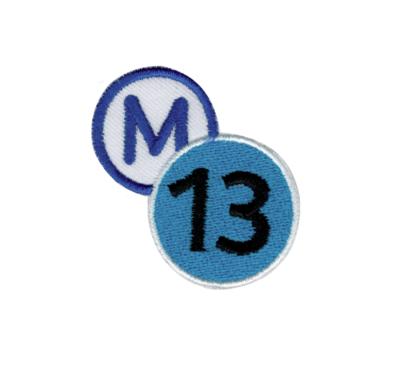 """M 13 LIGNE """" METRO , SUBWAY"""