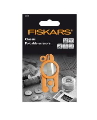 FISKARS CLASSIC FOLDABLE XS SCISSORS CISEAUX COUPE FIL  11 CM COUTURE 6411501951236 DECOUPE COUTURE LOISIR CREATIF ART PRO COMASOUND KARTEL CSK ONLINE
