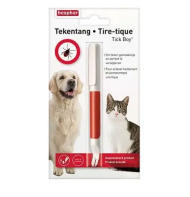 BEAPHAR TIRE TIQUES CHIEN CHAT  ANIMAL PROTECTION SOINS ANIMAUX PET CAT VETERINAIRE 8711231118465 COMASOUND KARTEL CSK ONLINE