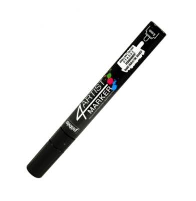 PEBEO 4ARTIST MARKER BLACK 4mm OIL BASED CANVAS TOILE COULEUR ART ARTISTE DESSIN DRAW 3167865801245 COMASOUND KARTEL CSK ONLINE