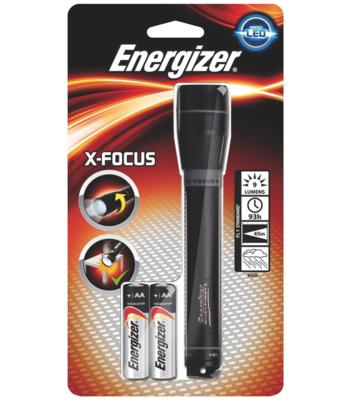 ENERGIZER LAMPE TORCHE X-FOCUS PECHE CHASSE LED LOT SET PACK PRO BRICOLAGE MECANIQUE GRAFFITI SECURITE HOME  PORTABLE SHOP ETUDE 7638900015096 COMASOUND KARTEL CSK ONLINE