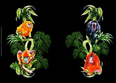 Magic Monkeys ©️2020 Atelier Ray Clarke Ltd