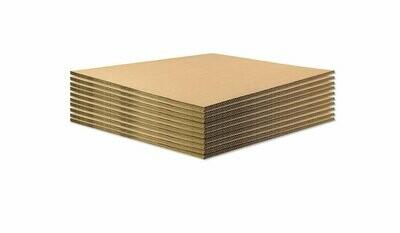 BASE IN CARTONE per ECOPALLET 80x60cm x 14mm 10 pezzi