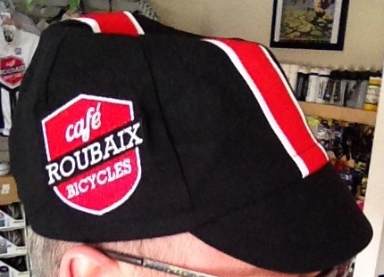 Cafe Roubaix Cycling Cap by Red Dots