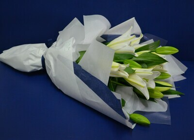 Cut Flowers, Gift Wrapped