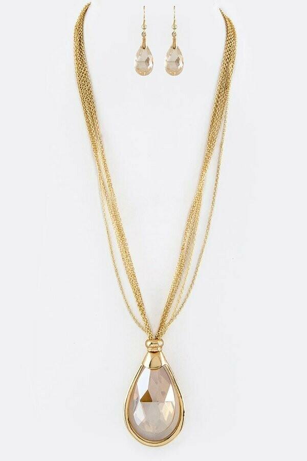30' Long Bulb Necklace Set