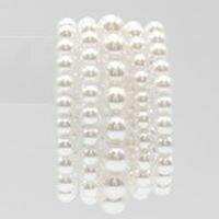 5 Layered Pearl Bracelet