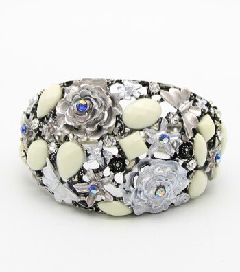 Beautiful Crystal Beaded Bracelet