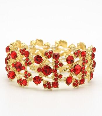 Bridal Rhinestone Stretch Bracelet