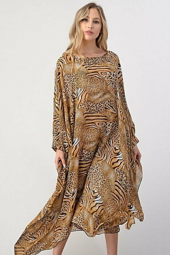 Stunning Animal Print Dress