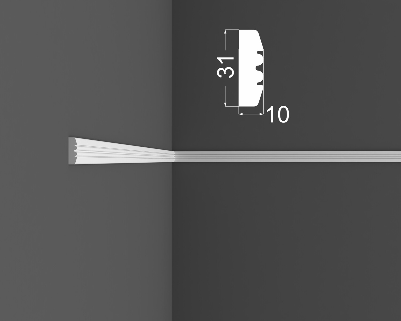 Молдинг DeArtio под покраску М 9.31.10