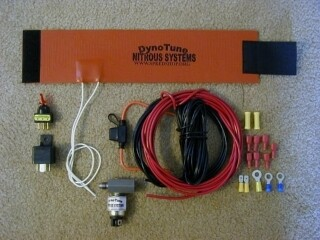 Motorcycle Nitrous Bottle Heater Kit
