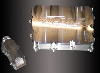 DME ZX-10 Billet Oil Pan  2004-05