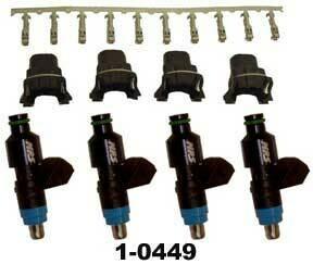 MPS 60 lb Fuel Injector Kit Suzuki GSX1300R Hayabusa (99-07)