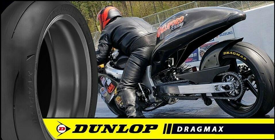 Dunlop Dragmax 190/50/17