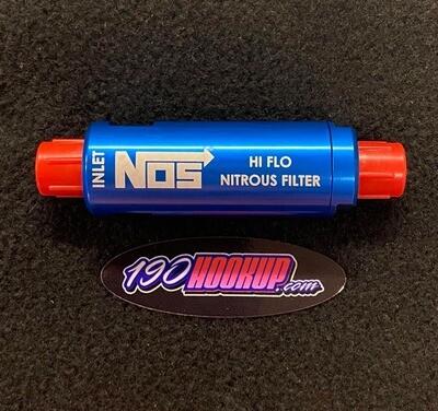 NOS In-Line Hi-Flow Nitrous Filter 6AN