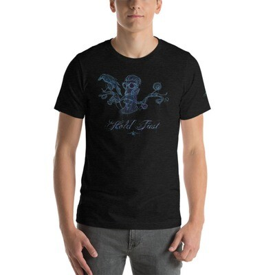 HOLD FAST (Dark) Short-Sleeve Unisex T-Shirt