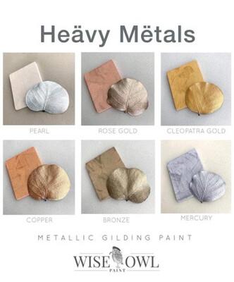 Heävy Mëtals Metallic Gilding Paint (8 oz)