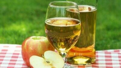 Яблочно – карамельное белое полусладкое
