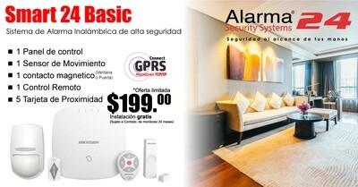 Sistema de alarma inalámbrico Smart24 Basic