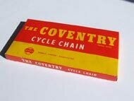 """Kette Coventry 1/2"""" x 3/16"""" x 145, 5cm Stahl, 114 Glieder"""