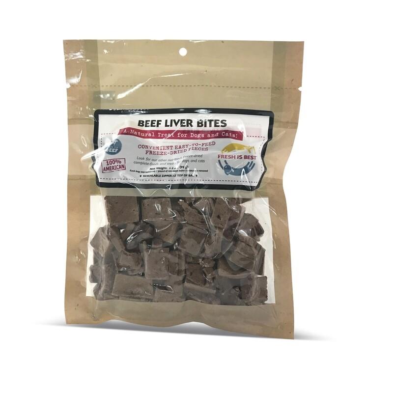 Freeze-Dried Beef Liver Bites