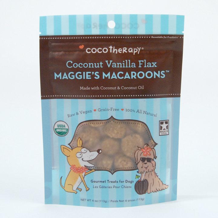 Maggie's Macaroons - Coconut Vanilla Flax