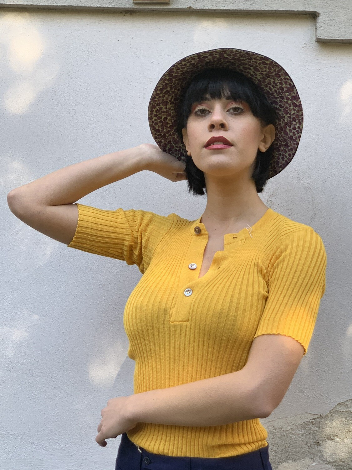 Vintage 1970s Ribbed Sweater