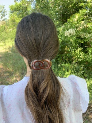 Vintage Hair Barrette With Pin
