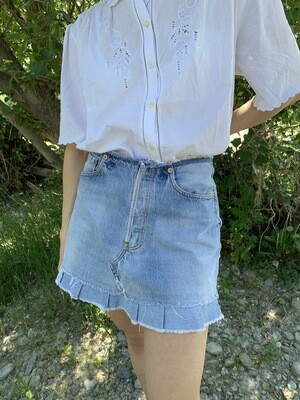 Vintage Levi's Reworked Mini Skirt