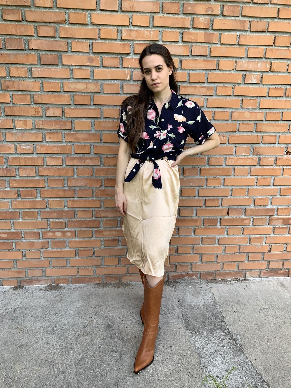 Vintage Silk Slip Skirt New from stock
