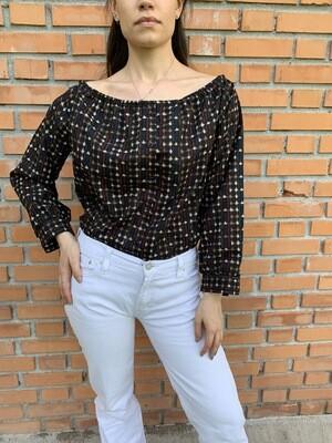 Praire Ruffle blouse, Puffy Sleeves