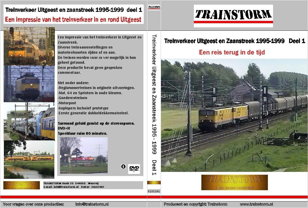 Treinverkeer Uitgeest en Zaanstreek 1995-1999 deel 1