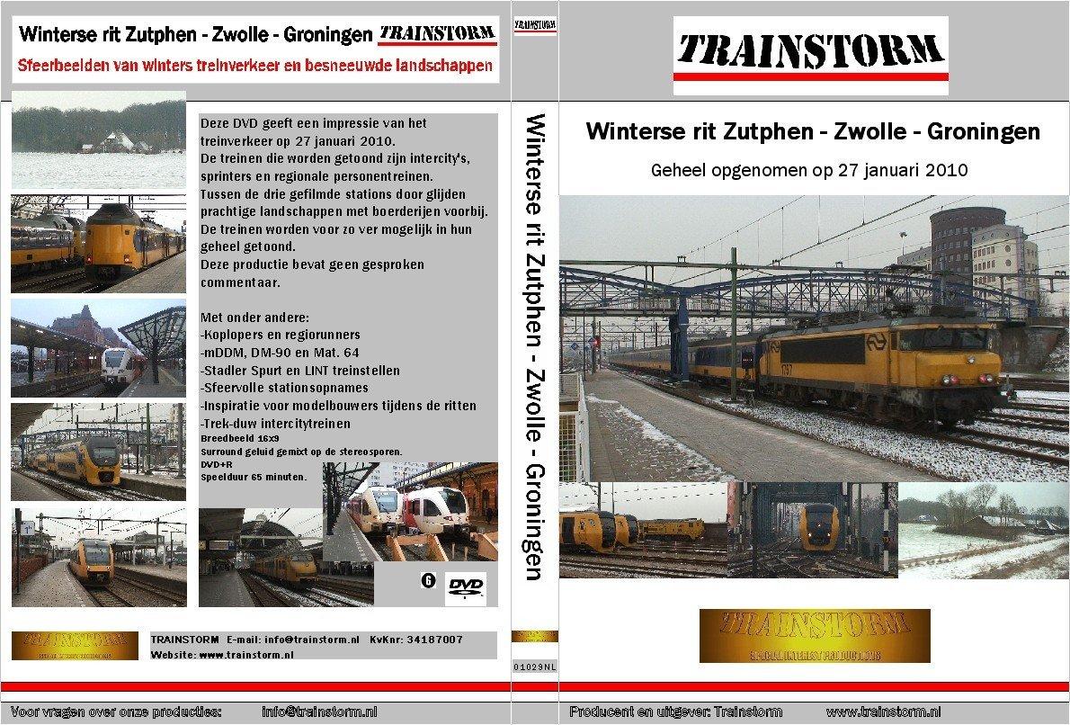 Winterse rit Zutphen-Zwolle-Groningen