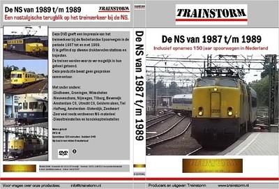 De NS in 1987 t/m 1989 DUBBEL DVD