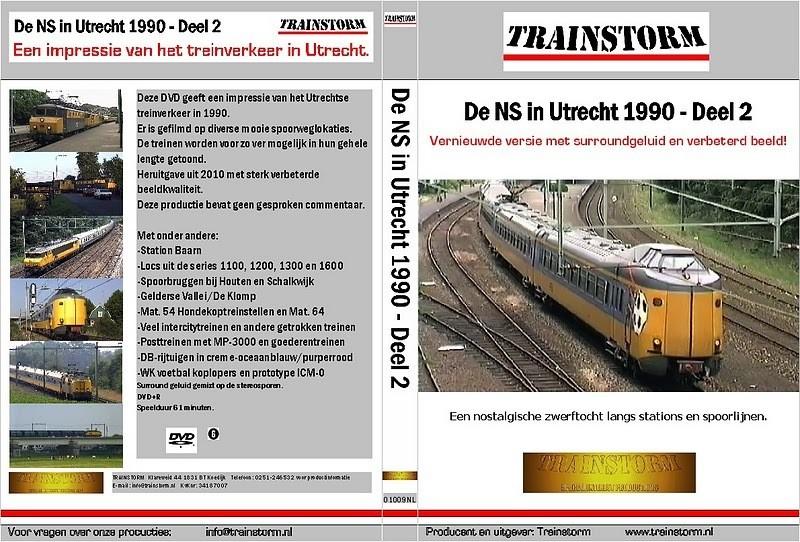 De NS in Utrecht 1990 deel 2