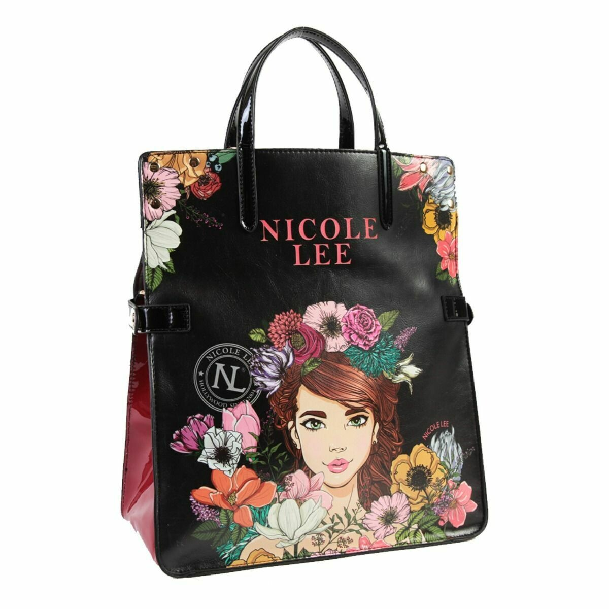 Сумка FLORAL FOLD-OVER TOTE BAG