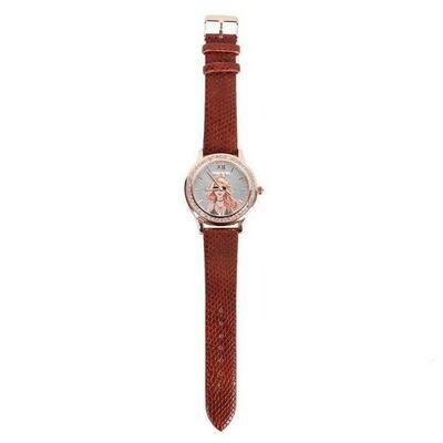 Часы THREE-HAND CRYSTAL PRINTED WATCH