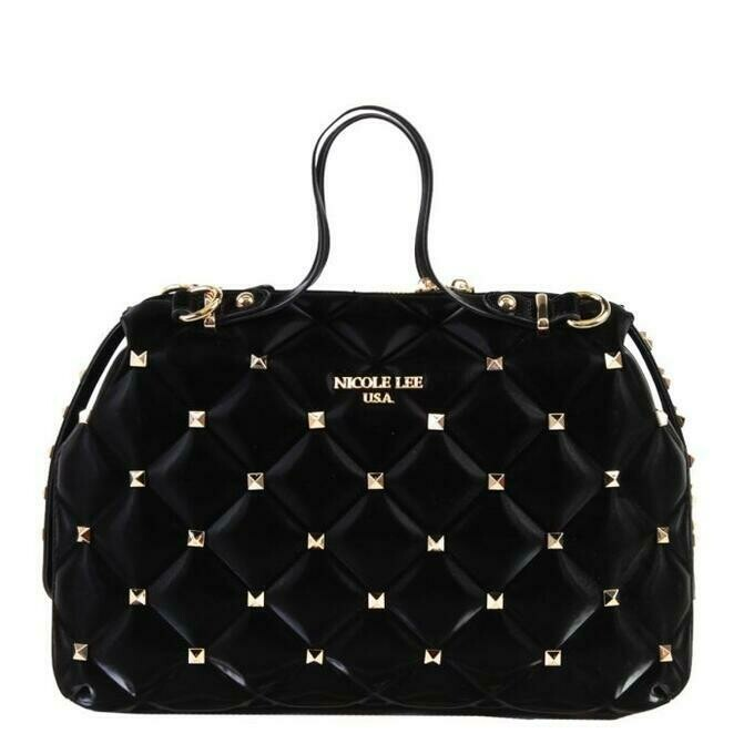 Сумка STUDDED QUILTED BOSTON BAG