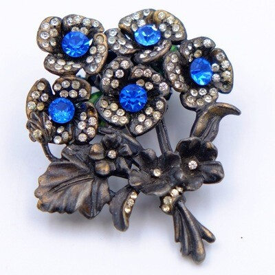 Vintage Bouquet Brooch 1930's