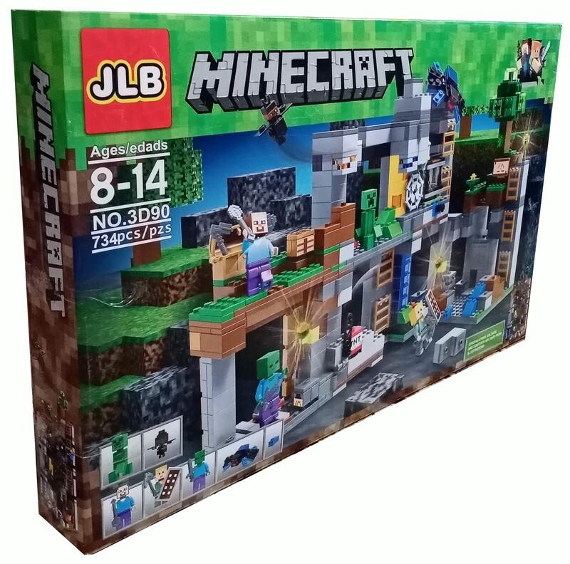 Minecraft. Подземный мир. Шахта.