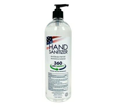 Hand Sanitizer - 1 L. Pump Bottle (ea.)