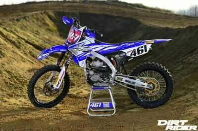 Romain Febvre Replica Decal Kit