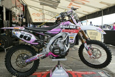 Davi Millsaps Muscle Milk Pink Replica Decal Kit