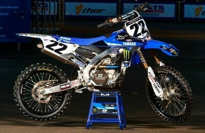 Chad Reed Monster Replica Decal Kit