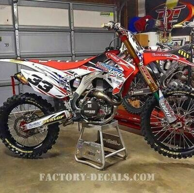 Coors Replica Decal Kit
