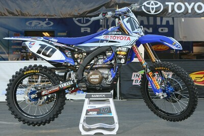 Justin Brayton JGR Toyota Replica Decal Kit